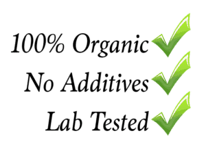 organic, natural, lab tested cbd